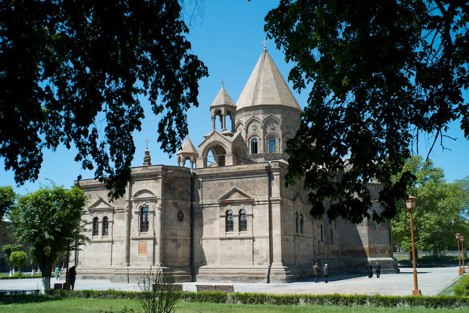Photo: Etchmiadzin Cathedral, Armenia, by Scott McDonough