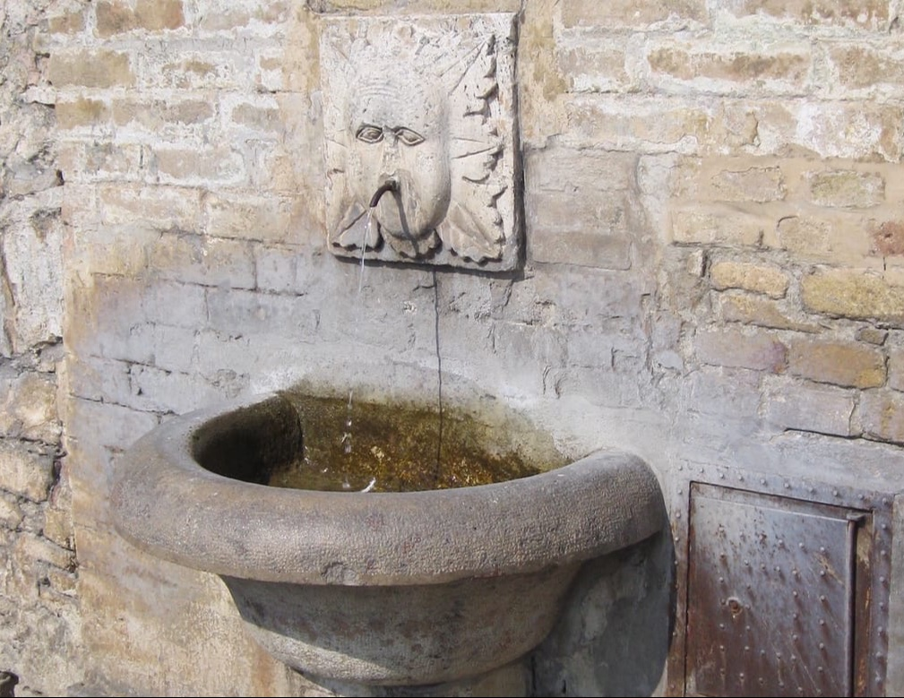 Photograph: Assisi water fountain, by Susie Weldon